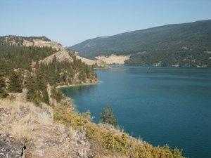 Der Kalamalka Lake in British Columbia